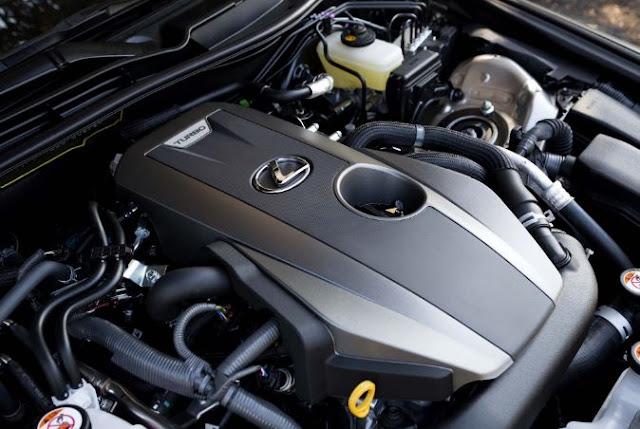 2017 Lexus IS200t F Sport Engine
