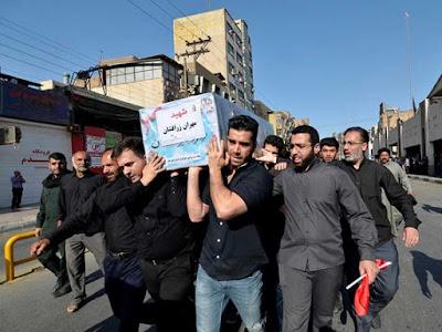 Captura Irán a varios implicados en ataque; despide a víctimas