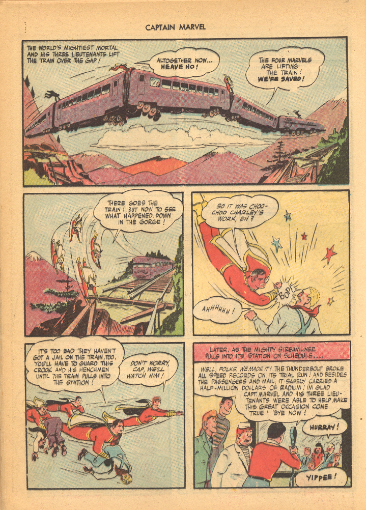 Captain Marvel Adventures issue 62 - Page 24