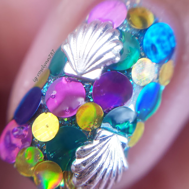 Nail Art Tutorial: Mermaid Tail