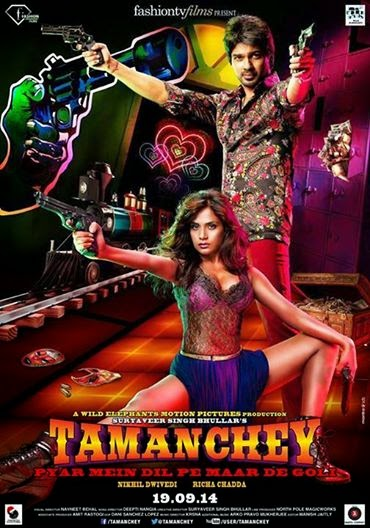 Tamanchey 2014 Hindi WEBHD 480p 300mb