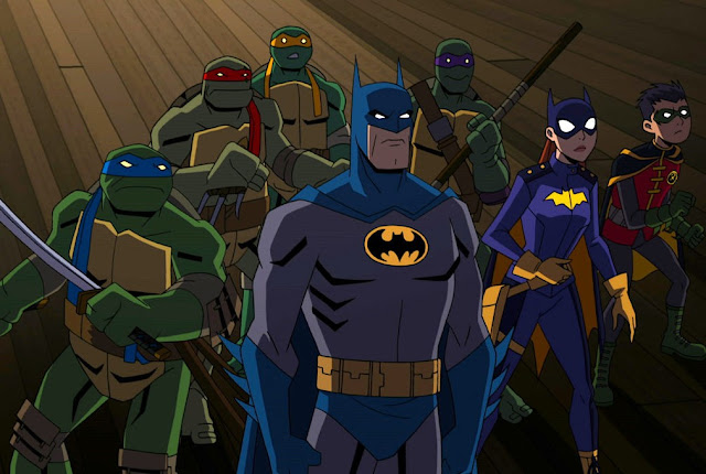 "Trailer de ""Batman vs Tartarugas Ninja"" entrega um inesperado crossover"