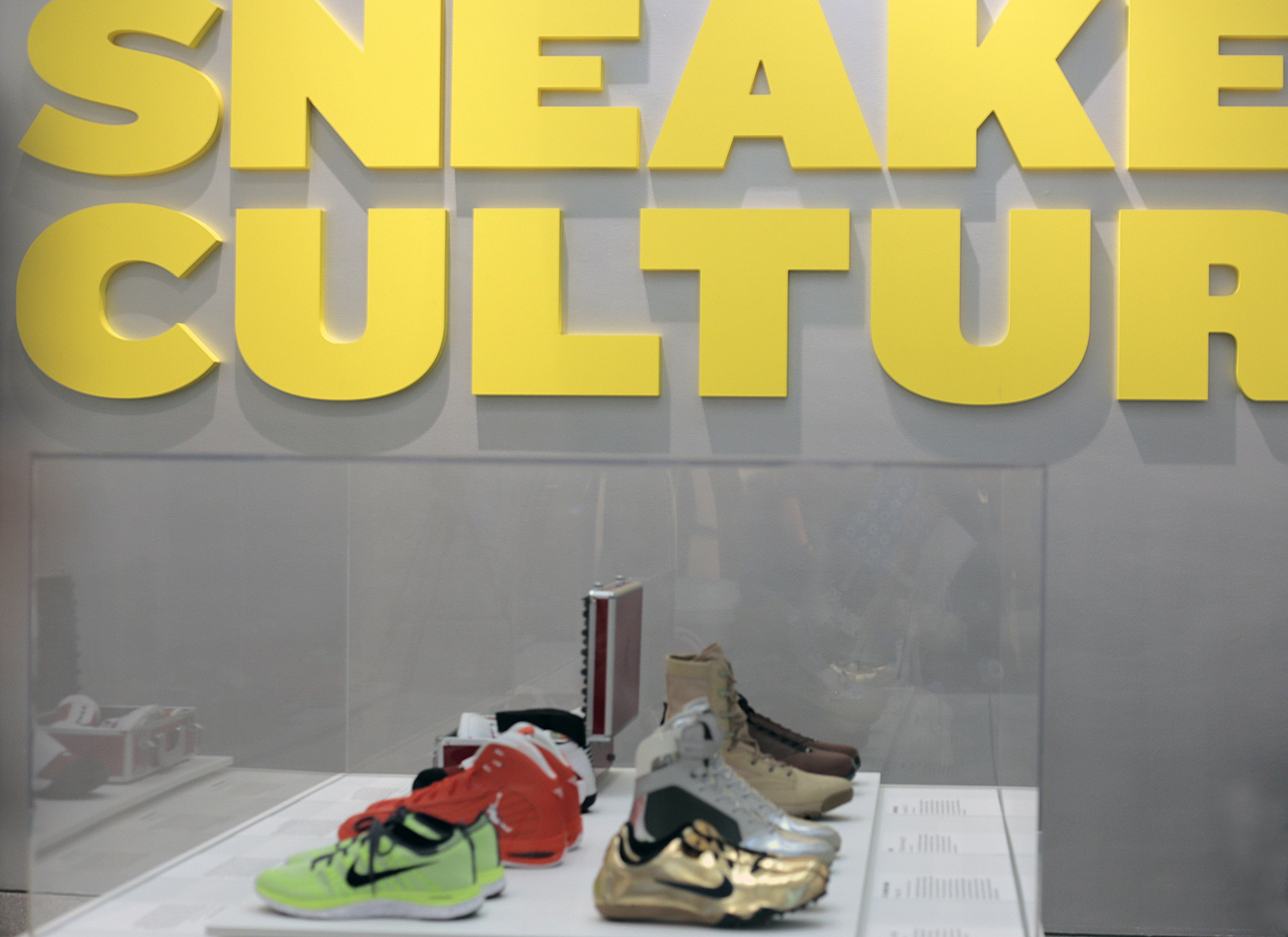 The Rise of Sneaker Culture at the Brooklyn Museum  sneakerculture. A  simple swoosh 25c5e32d5