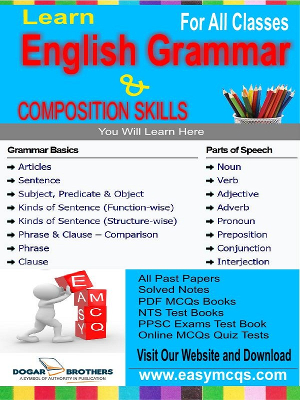 Rules Of English Grammar PDF - Easy MCQs