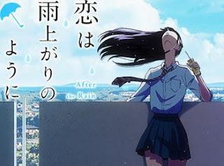 akira tachibana inclinada poster koi wa ameagari you ni