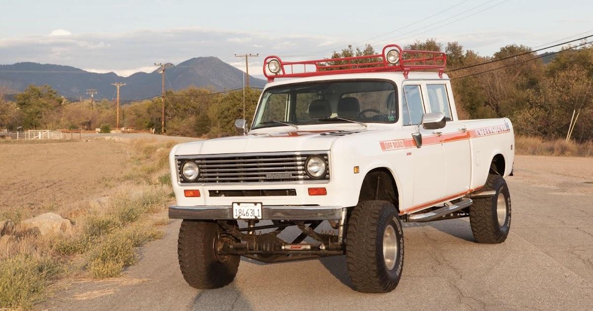 1973 International 4x4 Crewcab Restomod Pickup Truck For ...