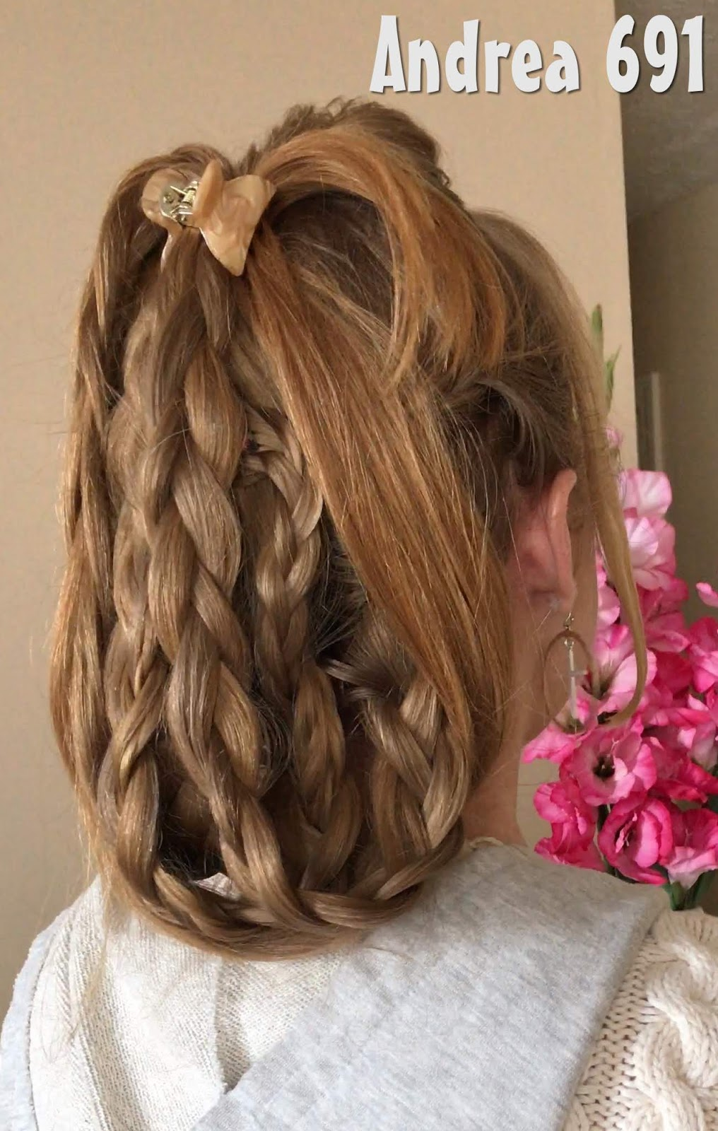 Braids Hairstyles For Super Long Hair Short And Easy Updo Today S Hairstyle