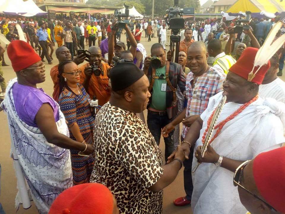 [PHOTOS] Ubah attends 'Ovala Aguleri' as Eze Idigo celebrates 118 Ovala festival