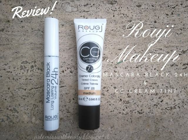 rougj mascara e cc cream
