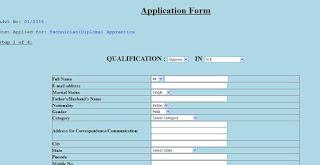 SDSC SHAR Apprentice Form