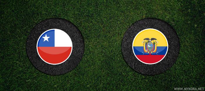 مشاهدة مباراة الاكوادور وتشيلي
