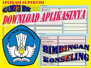 DOWNLOAD APLIKASI SUPERVISI PEMBINAAN GURU BK BIMBINGAN KONSELING SMP SMA EXCEL XLS