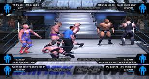 تعمل على الكمبيوتر | WWE Smackdown – Here Comes The Pain 2003 | لعبة