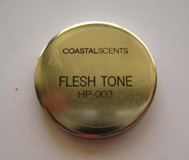 Coastal Scents Hot Pot in Fleshtone: Review, Swatches and EOTD