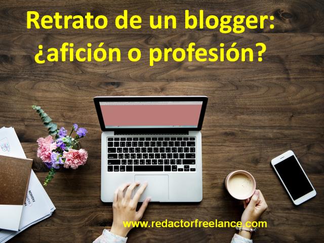 retrato de un blogger