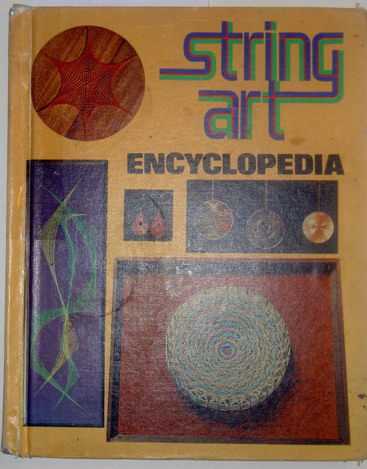 стринг арт книги журналы