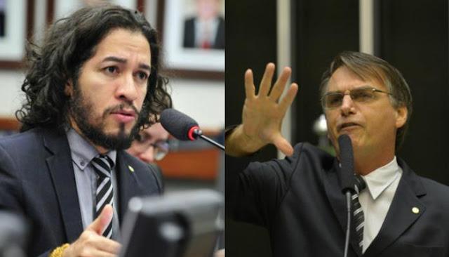 Em resposta às provocações contínuas de Jair Bolsonaro, em meio à abertura do processo de impeachment que afastou Dilma Rousseff da Presidência, em abril deste ano, Jean Wyllys (PSol) cuspiu em direção ao deputado do Partido Social Cristão (PSC). A ação, que resultou em um processo disciplinar levado ao Conselho de Ética da Câmara, teve novo episódio nesta terça-feira (15), quando o deputado Ricardo Izar (PP), relator do processo, recomendou que Wyllys fosse suspenso por 120 dias.  No parecer, Izar diz que