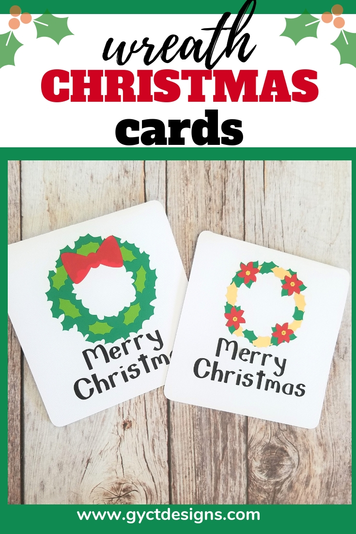 Wreath Christmas Cards Sew Simple Home