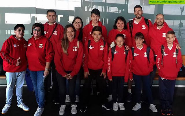 El ayuntamiento de Breña Alta se enorgullece de los éxitos cosechados por el Tenis de Mesa Defense en el zonal de Collado Mediano en Madrid