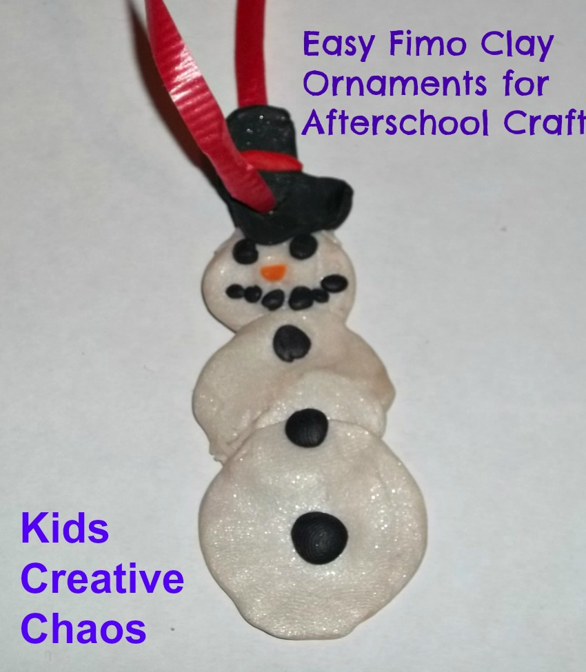 7 Homemade Christmas Ornament Craft Ideas - Kids Creative Chaos