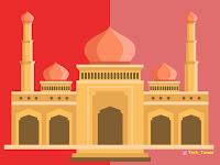 Free Vector Masjid 2019