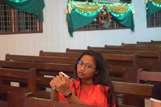 Foto Maria Idol terbaru