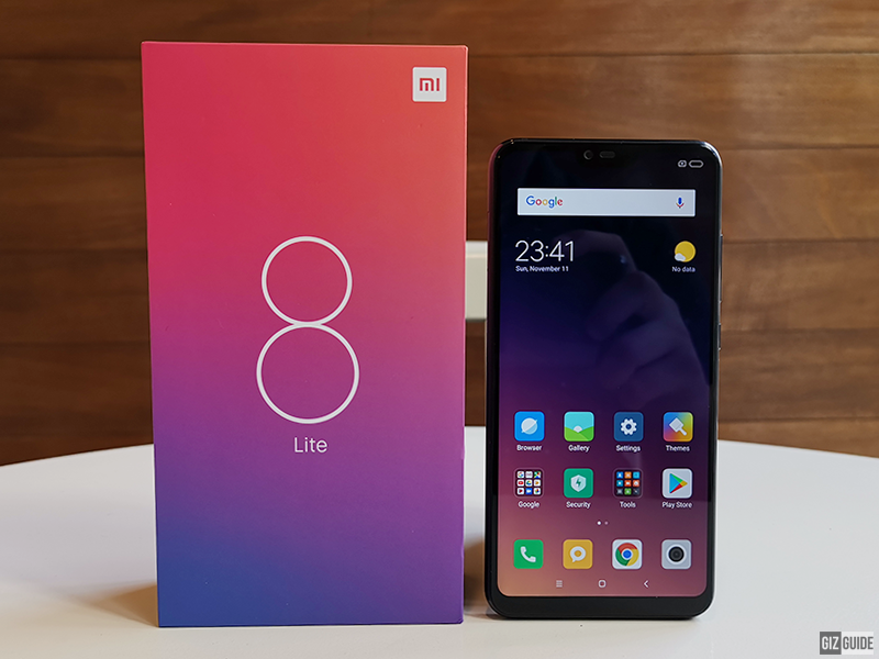 Xiaomi Mi 8 Lite Unboxing and First Impressions