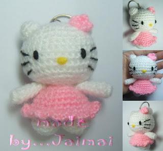 Hello Kitty Blij Dat Ik Brei