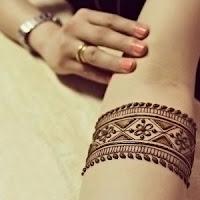 марокканский стиль мехенди