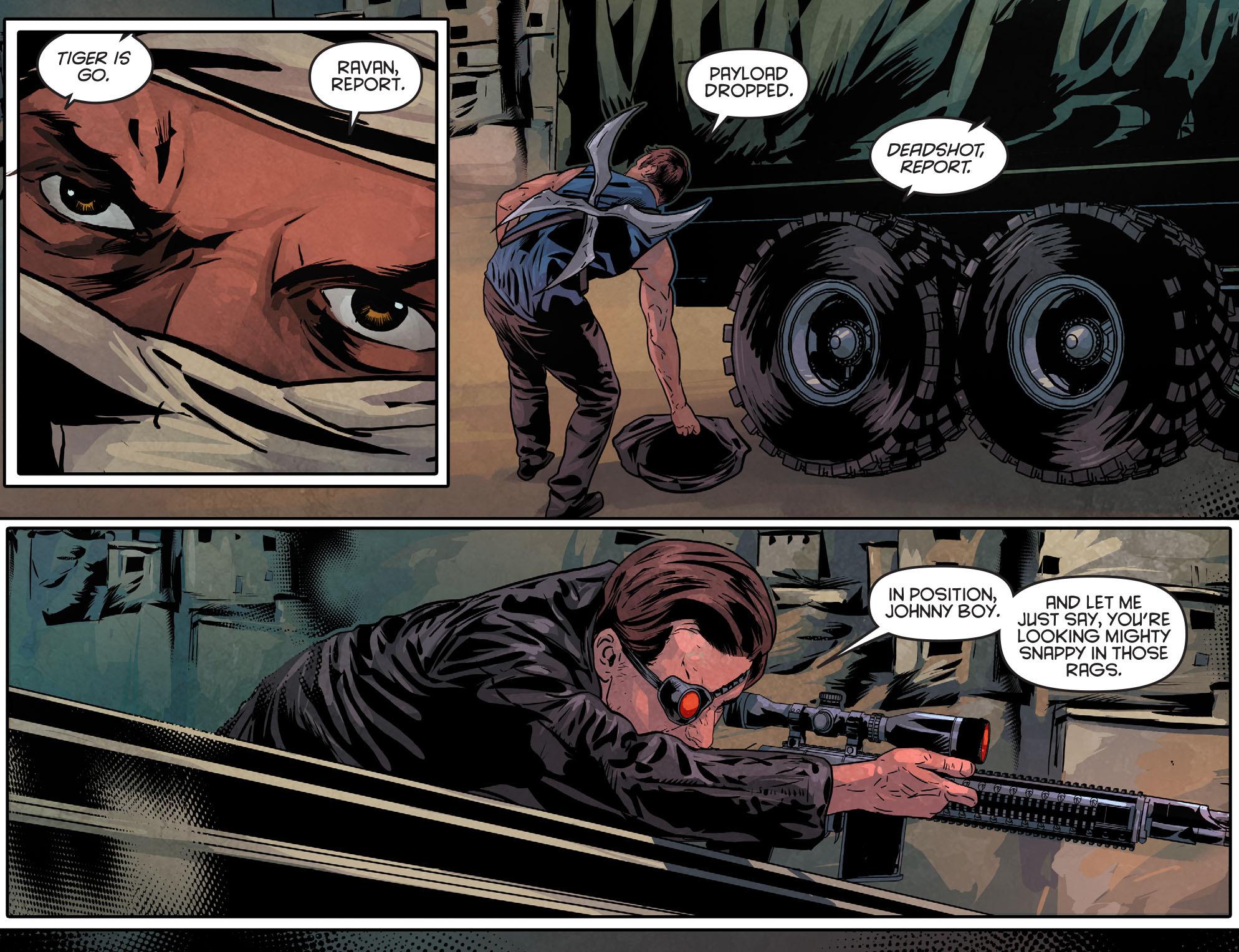 Read online Arrow: Season 2.5 [I] comic -  Issue #11 - 14