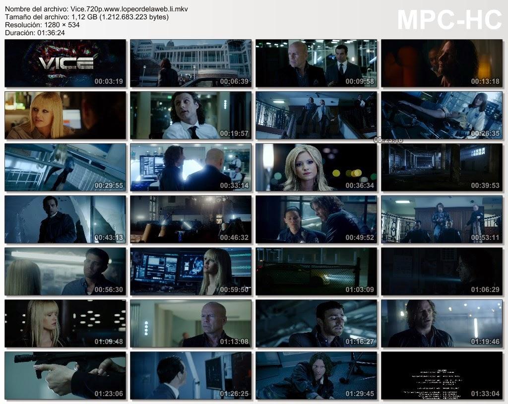 Vice (2015) BRrip 720p Subtitulada