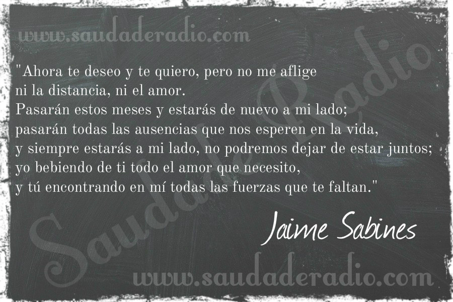 Jaime Sabines Julio 14 1949