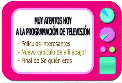 programacion del lunes 1 de mayo en la television