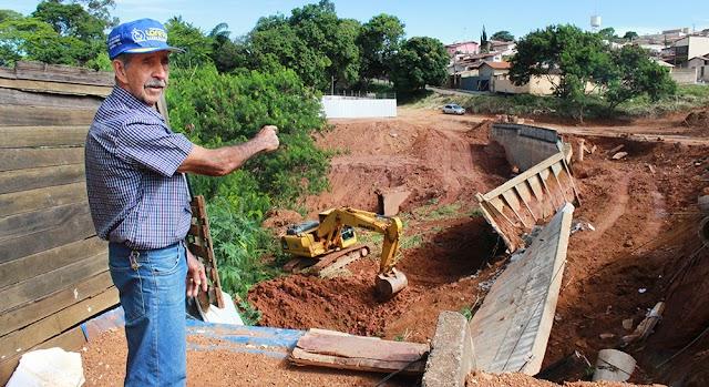Anápolis: Começa recuperação de uma das maiores erosões da cidade
