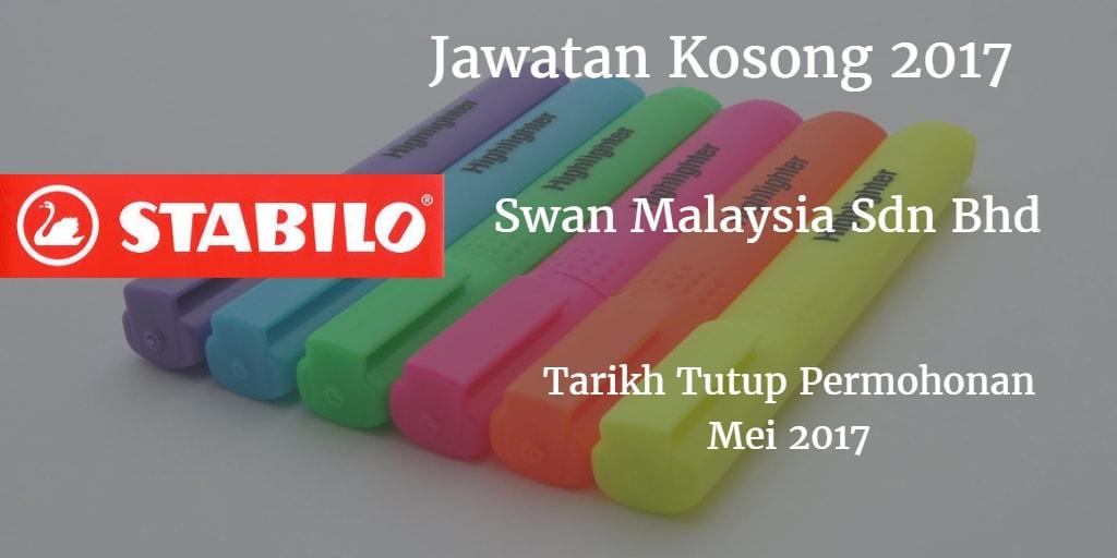 Jawatan Kosong Swan Malaysia Sdn Bhd Mei 2017