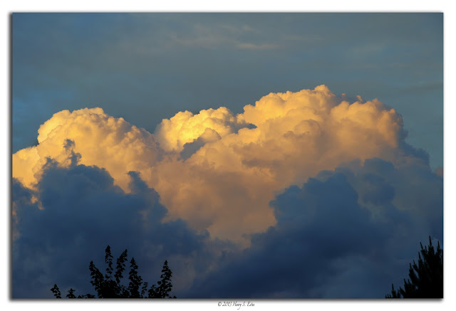 Clouds of Orange