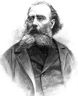 José María Esquerdo Zaragoza. Grabado publicado en 1895