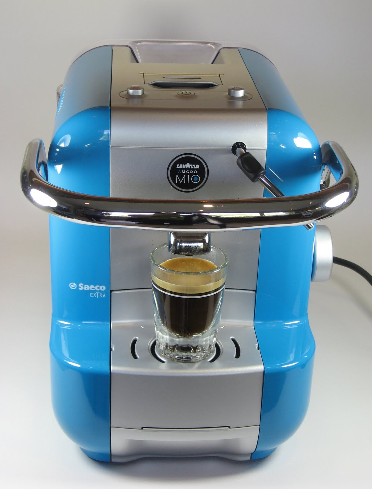 kitchen delights review saeco lavazza a modo mio extra coffee machine. Black Bedroom Furniture Sets. Home Design Ideas