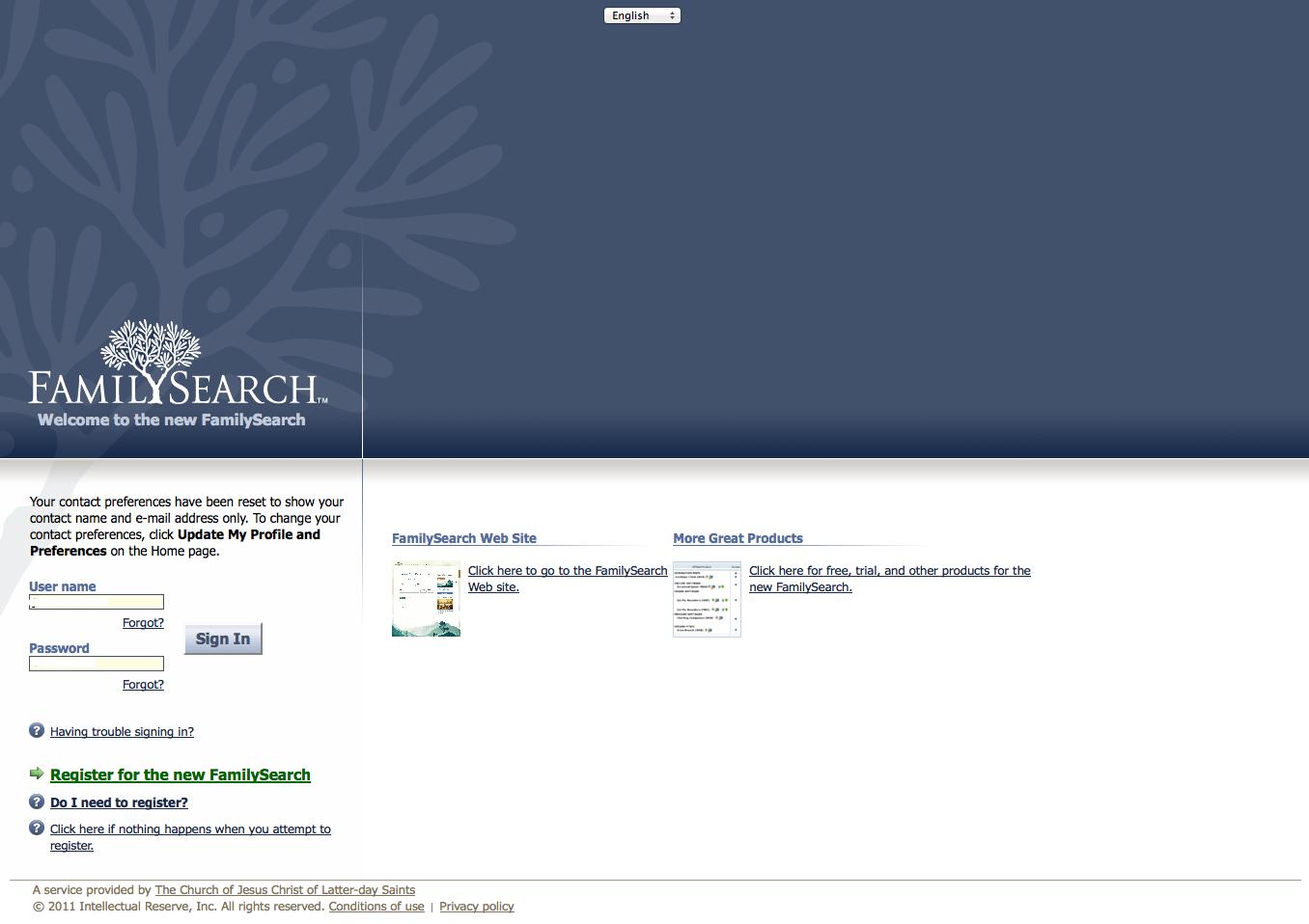Genealogy's Star: Old FamilySearch.org Website still alive?  Genealogy's...