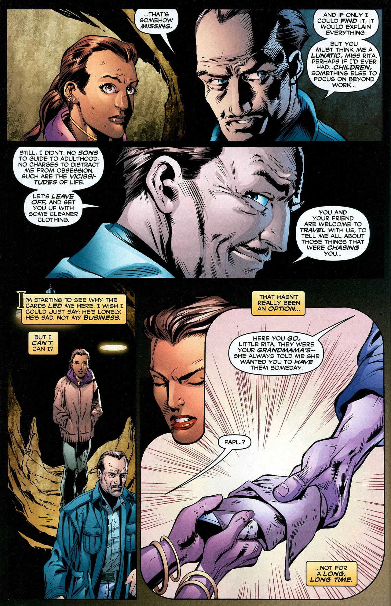 Read online Trinity (2008) comic -  Issue #19 - 10