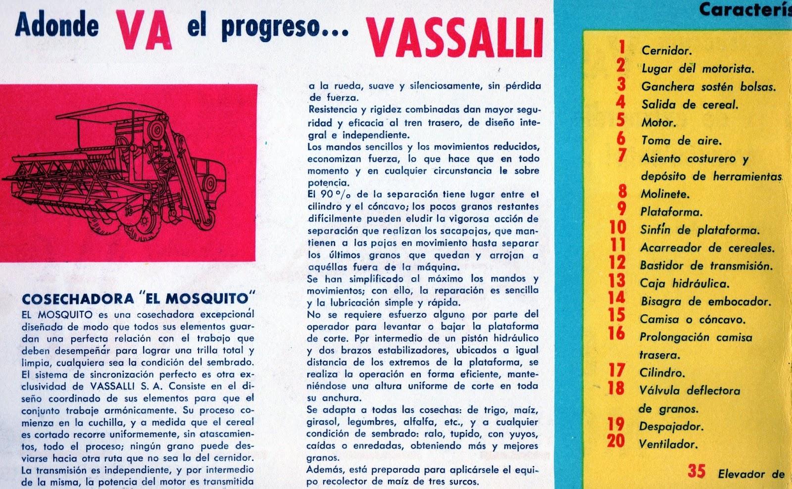 Pesados Argentinos: Vassalli Mosquito