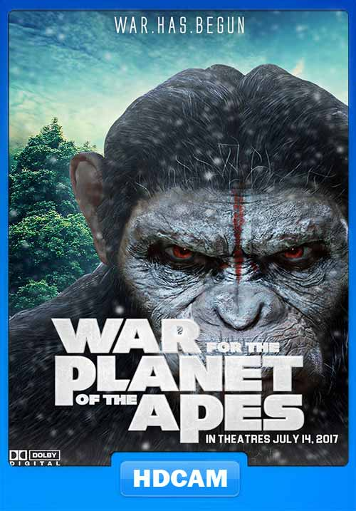 War for the Planet of the Apes 2017 Hindi CAMRip 350MB x264