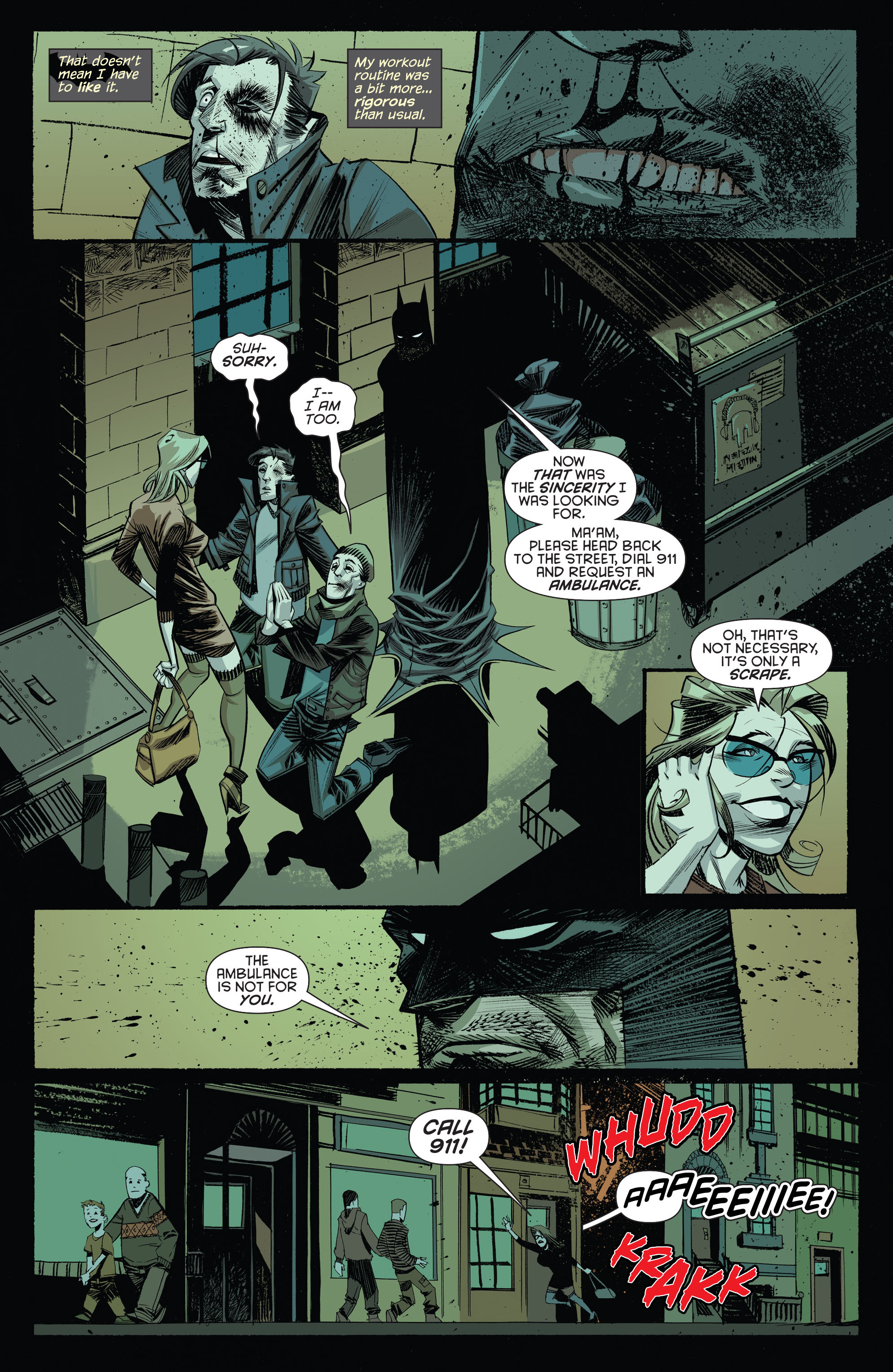 Read online Arkham Manor comic -  Issue #1 - 9