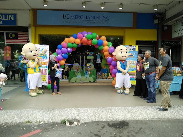 Upin & Ipin Store Cawangan Terbaru di Ampang