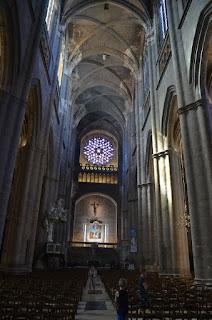 Interior de la catedral de Rodez