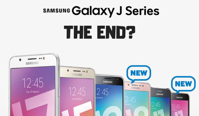 Samsung Are Going to End the J Series Soon