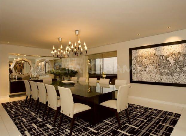 Decoraci n minimalista y contempor nea comedores for Decoracion de casas modernas y elegantes