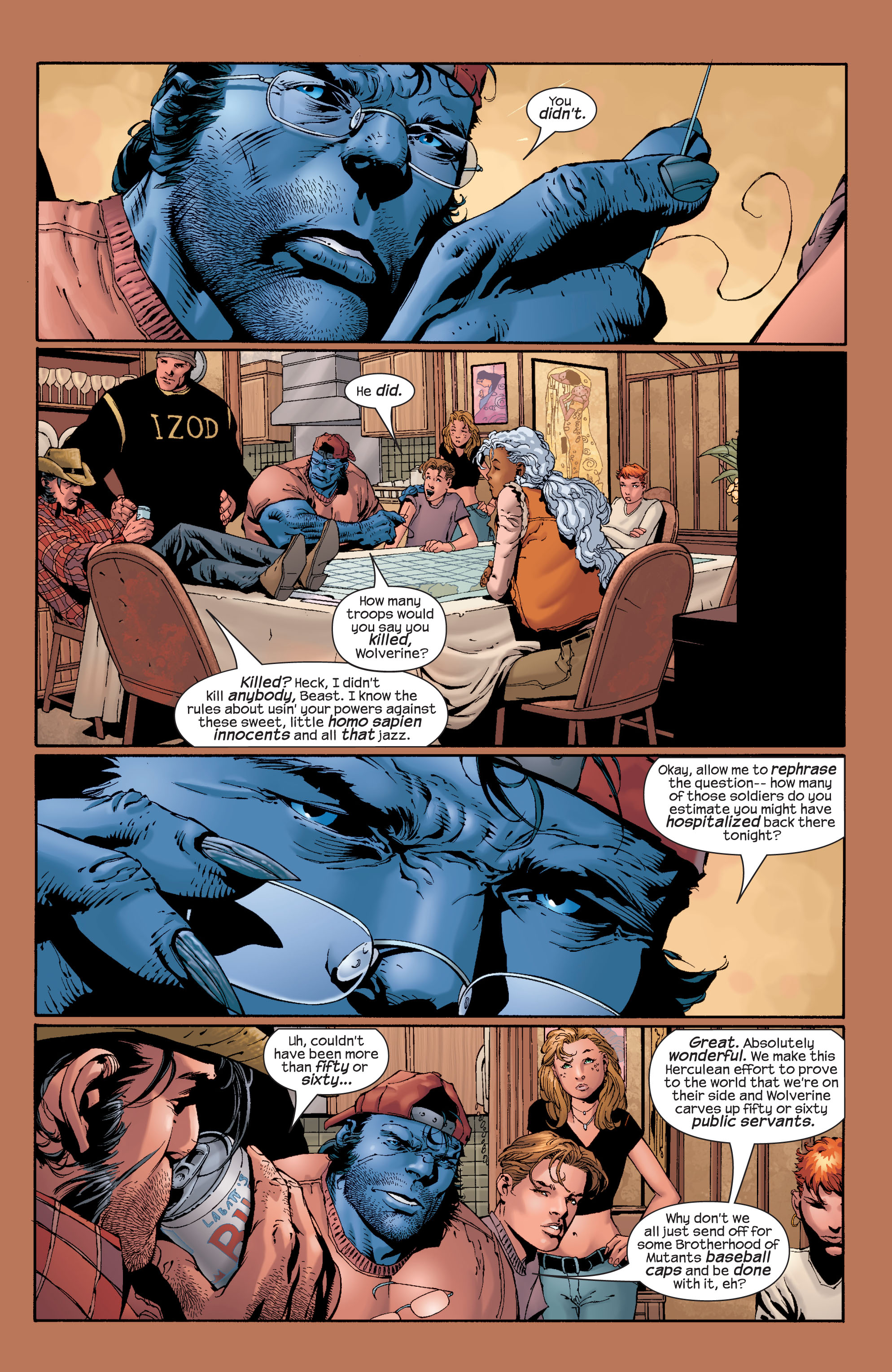 Read online Ultimate X-Men comic -  Issue #28 - 16