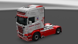 Scania RJL Donnel & Ellis Skin