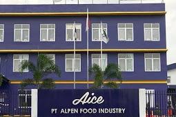 Lowongan kerja PT Alpen food industry ( Aice )